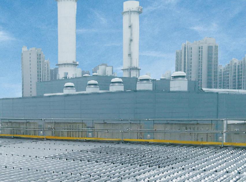 北京太阳宫燃气热电冷却塔降噪